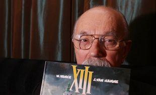 Le dessinateur de la BD «XIII», William Vance, en 2007.