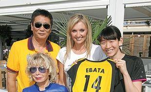 Yan Fang, Anny Courtade, Victoria Ravva et la japonaise Ebata Yukiko.