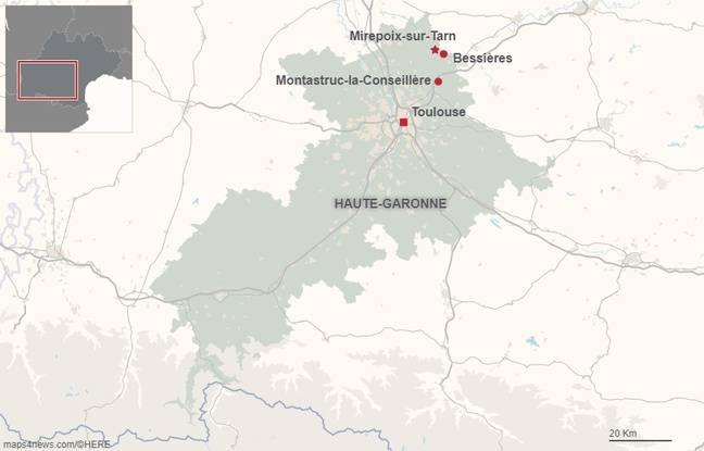 Mirepoix-sur-Tarn, à une trentaine de kilomètres de Toulouse, compte un millier d'habitants.