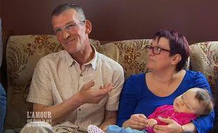 Jean-Claude Joly et sa femme, Maud. Deux anciens candidats de l'émission l'Amour est dans le pré.