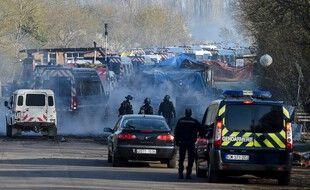 L'évacuation de la ZAD du Carnet, le 23 mars 2021
