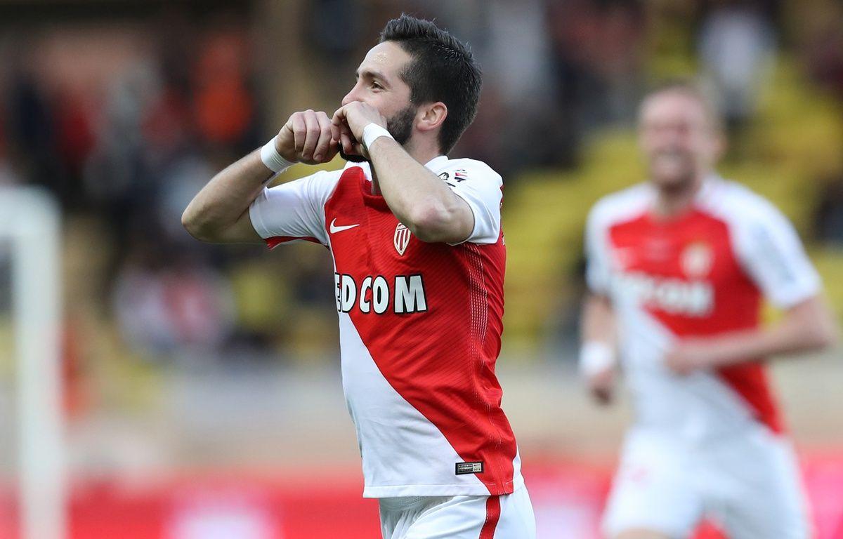 Joao Moutinho a inscrit le 2e but de Monaco face à Bordeaux, samedi 11 mars. – VALERY HACHE / AFP