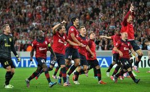 Lille s'est qualifié pour la phase de poules de la Ligue des champions grâce à sa victoire 2-0 (après prolongation) mercredi face au FC Copenhague lors des barrages retour (défaite 1-0 à l'aller).