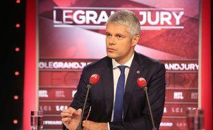 Laurent Wauquiez, candidat à la président LR, invité du «Grand jury» de RTL-Le Figaro-LCI, le 29 octobre 2017.