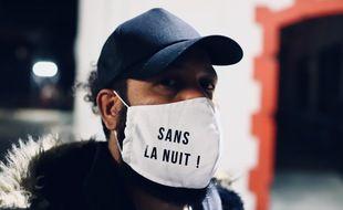 Faf Larage, rappeur, eventeuse, témoigne dans la websérie « Sans la nuit ».