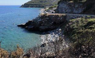 La plage de Sisco, en Haute-Corse