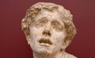 « La douleur », sculpture de Jean Escoula (Musée d'Orsay)