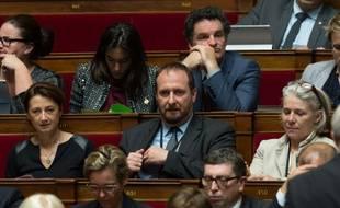 Christophe Arend lors des questions au gouvernement à l'Assemblée