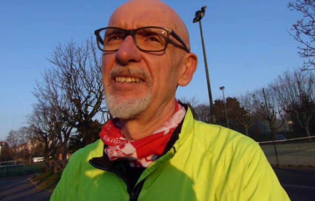 Georges Salines, le président de l'association «13 Novembre : fraternité et vérité», est un passionné de course à pied. – RS