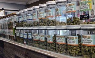 Un dispensaire de marijuana à usage médical, à Los Angeles (illustration).