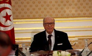 Le président tunisien Essebsi, le 18 février 2015