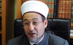 Tareq Oubrou, recteur de la mosquée de Bordeaux, le 27 décembre 2013.