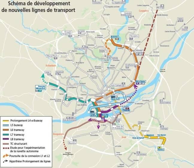 Les nouveautés du réseau de transports à Nantes, d'ici à 2026