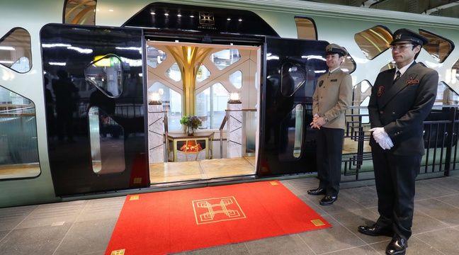 Le japon inaugure le shiki shima train luxueux pr s de for Cuisine 8000 euros