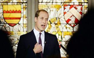 Le prince William lance le 19 octobre 2015 à Londres un appel à la Chine pour qu'elle boycotte l'ivoire et d'autres produits d'origine animale très prisés dans la médecine traditionnelle