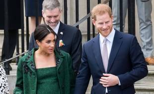 Meghan Markle et le prince Harry à Londres.
