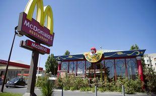 La façade d'un McDonald's à Marseille (illustration).