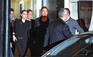 Brad Pitt et Angelina Jolie à Paris, juin 2013