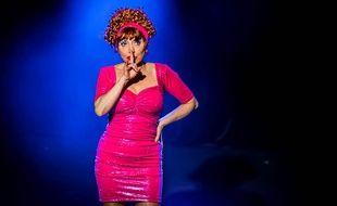 L'humoriste Mado la Niçoise a participé à «D8 déraille», le 5 juillet 2016.