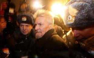 L'écrivain Edouard Limonov a été brièvement interpellé lundi pour avoir tenté de participer à un rassemblement non autorisé à Moscou, qui a abouti à l'interpellation d'une vingtaine d'autres opposants, ont rapporté les agences de presse russes.