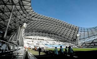 Le stade Vélodrome de Marseille, le 26 octobre 2013.