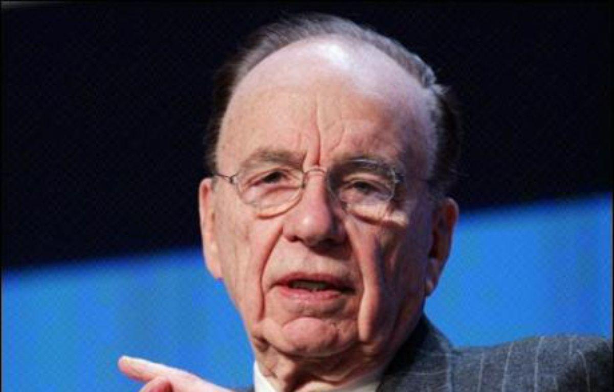 Le conseil d'administration du groupe Dow Jones a voté mardi soir en faveur d'une vente au magnat Rupert Murdoch, qui doit encore recevoir l'accord de la famille Bancroft – Pierre Verdy AFP/Archives