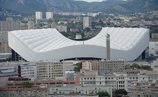 Le Vélodrome à Marseille.