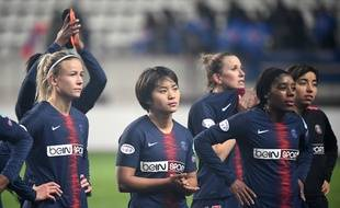 Les joueuses du PSG sont éliminées de la Ligue des championnes.