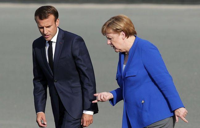 Emmanuel Macron et Angela Merkel se donnent rendez-vous à Marseille
