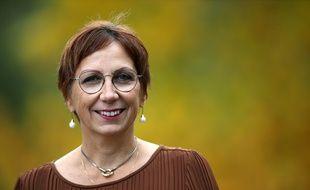 Anne Vignot, candidate EELV à la mairie de Besançon, en mars dernier.