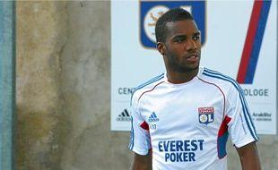 En l'absence de Lisandro, blessé, Alexandre Lacazette espère être aligné contre Dijon, samedi.