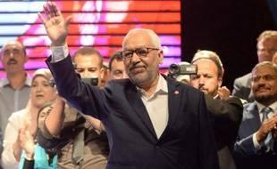 Le chef du parti islamiste tunisien Rached Ghannouchi, le 24 octobre 2014 à Tunis