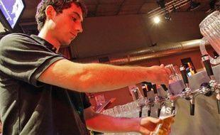 Le Ninkasi produit 4 500 hectolires de bière par an, dont 60 % vendus à la pression.