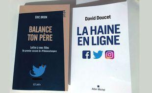 Couvertures des livres d'Eric Brion et de David Doucet.