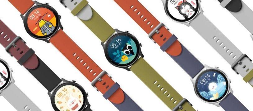 Xiaomi lève le voile sur une nouvelle montre au design ultra-personnalisable