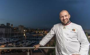 Le chef cuisinier Guillaume Gomez, en poste à l'Élysée depuis 1997.