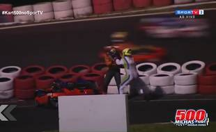Grosse bagarre sur la piste de kart - Le Rewind