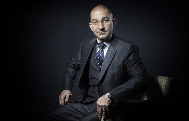 Jean Messiha, coordinateur du projet présidentiel FN pour la présidentielle de 2017, le 10 janvier 2017 à Paris