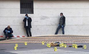 Mardi, à Marseille.. AFP PHOTO/ ANNE-CHRISTINE POUJOULAT
