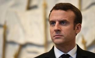 Emmanuel Macron, le 17 mai 2017. STEPHANE DE SAKUTIN