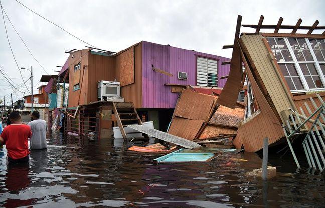 VIDEO. L'ouragan Maria a fait au moins 21 morts dans les Caraïbes, Porto Rico «anéanti»