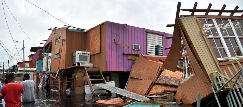 L'île de Puerto Rico a été ravagée par l'ouragan Maria