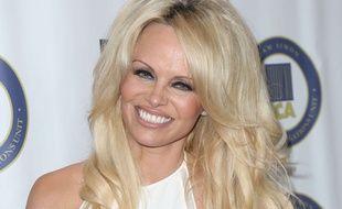 Pamela Anderson à Los Angeles en octobre 2015.