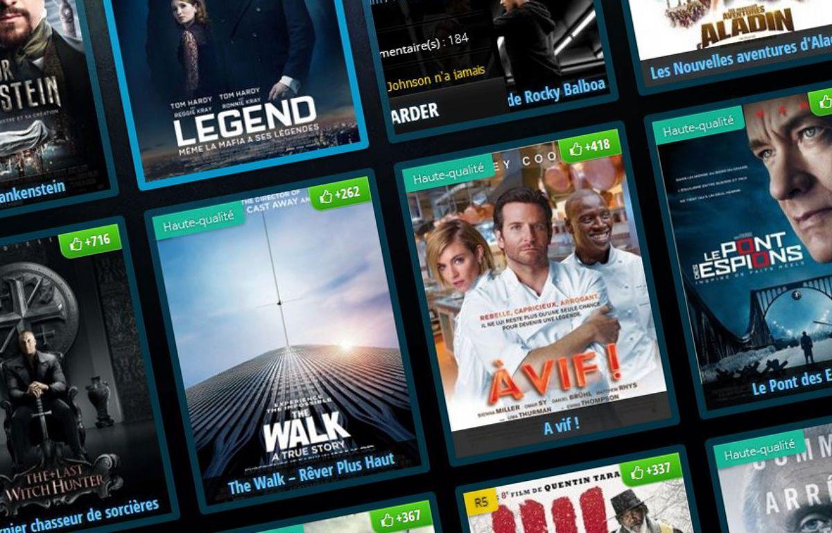 Capture d'écran du site de streaming Full-stream. – 20 Minutes