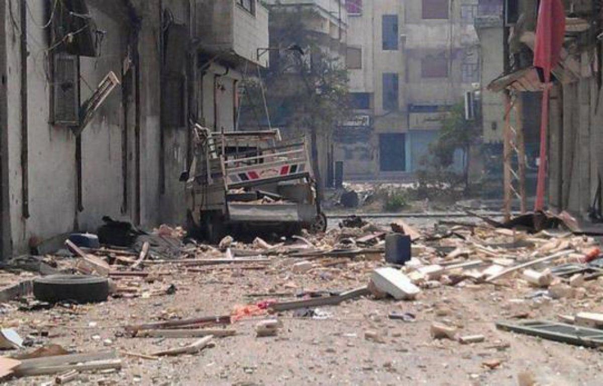 Les forces gouvernementales ont repris le bombardement de la ville rebelle de Homs (centre) et menaient des opérations dans la province de Damas, rapporte l'Observatoire syrien des droits de l'Homme (OSDH) faisant état de la mort de 34 personnes dans les violences lundi. –  afp.com