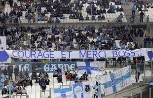 Au stade Vélodrome, à Marseille, le 24 septembre 2017.