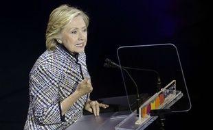 Hillary Clinton, le jeudi 23 avril à New York.