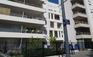 Vaulx-en-Velin, le 30 aout 2016 Le quartier du Carré de Soie, à cheval sur les communes de Vaulx-en-Velin et Villeurbanne est en pleine mutation. A terme, plus de 1 500 logements seront construits