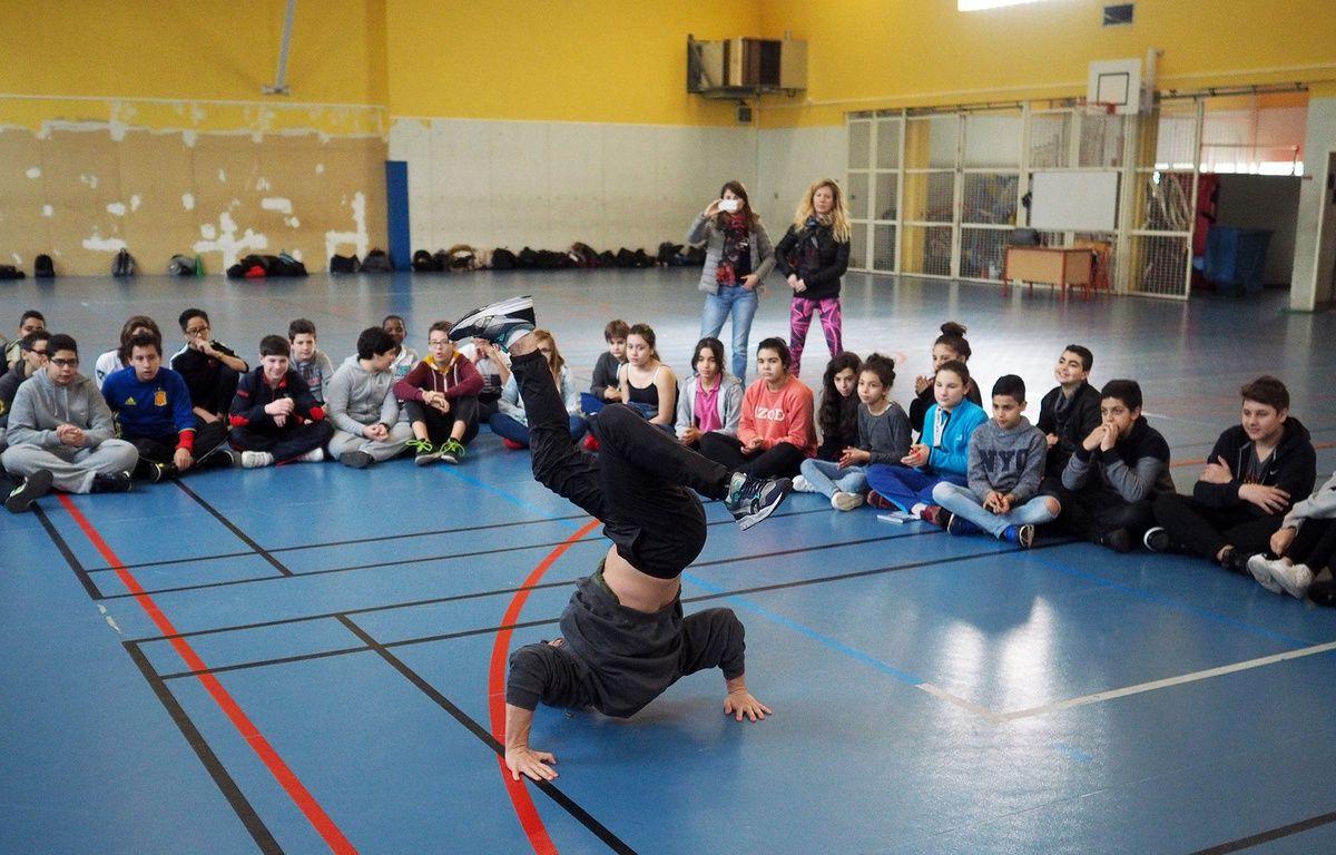 Mardi matin, dans le gymnase des Vallergues – F. Binacchi / ANP / 20 Minutes