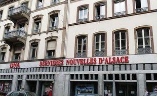 La façade des Dernières Nouvelles d'Alsace, à Strasbourg.